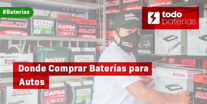 Donde comprar baterias para autos en Lima
