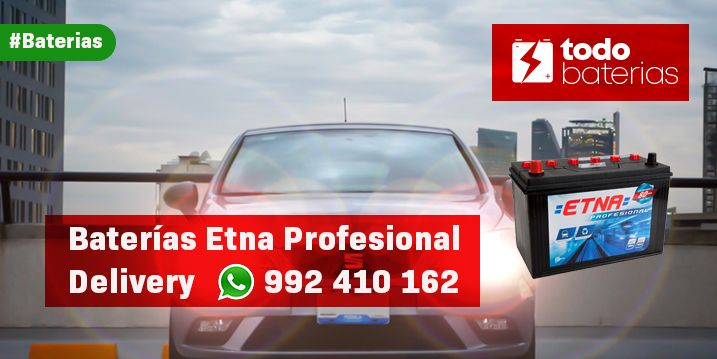 Baterias etna profesional delivery