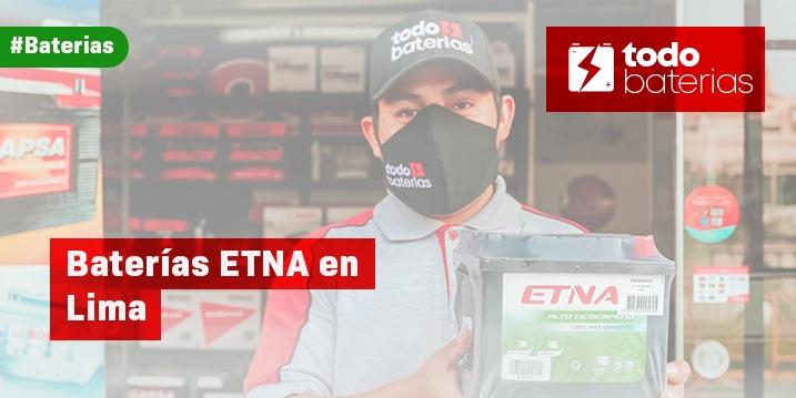 Baterias etna en Lima